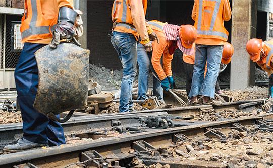 Nuestro método de trabajo in-company es práctico y efectivo para el sector ferroviario.