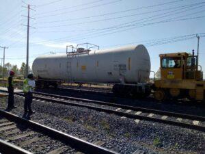 Reglas para el movimiento de equipos de arrastre en la industria ferroviaria.